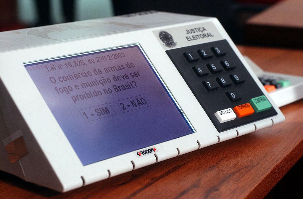 brazillian voting machine